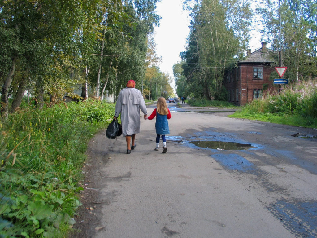 Going home in Pedrozavodsk
