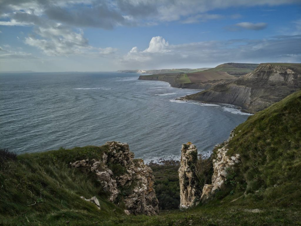 From St. Aldhelm's Head towards Kimmeridge
